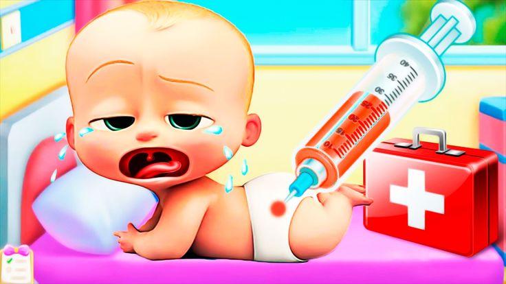КРОШКА МАЛЫШ как БОСС Купается У доктора ВЕСЕЛЬЕ в ПАРКЕ The Baby Boss C...