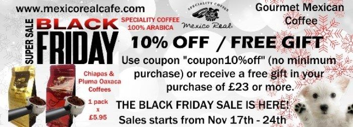 KEEP CALM & GO SHOPPING! MEXICO REAL CAFE ANNOUNCES AMAZING EARLY BLACK FRIDAY DEALS STARTING FROM NOVEMBER 17th-24th. BUY 4 GOURMET MEXICAN COFFEES & GET ONE FREE GIFT! #origine #pur #artisan #monoarabica #crema #macchine #espressomachine #collection #capsules #shopping #mexicorealcafe #cafe #café #coffee #caffè #caffe #blackfriday #deals #buy #gourmet #mexican #coffee #free #gift #store #amazon #ebay #america #usa #canada #italia #france #españa #uk #british #london  #tasty #yummy #drink…