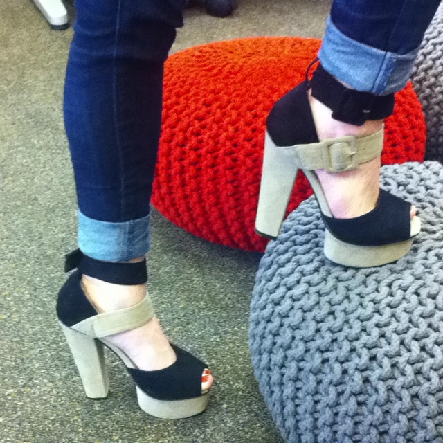 Leigh's shoes of the day!!!