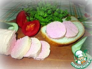 Детская вареная колбаса
