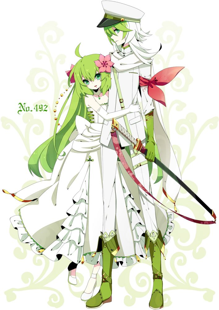 Shaymin Gijinka (both forms) ((please let me know of the artist/if they would like me to take it down))