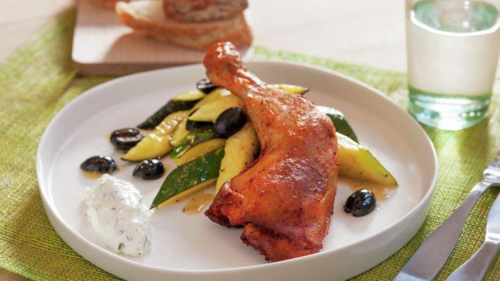 Kyllinglår med glasert squash - Rask - Oppskrifter - MatPrat