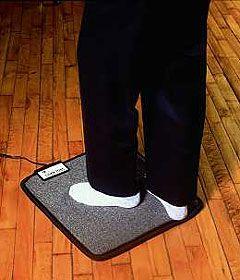 Cozy Toes - Heated Foot Warmer Floor Mat