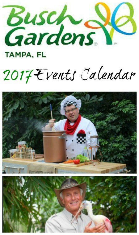 Grab your calendars and write down the events that you won't want to miss at Busch Gardens Tampa in 2017. Check out the Busch Gardens Tampa Events Calendar.