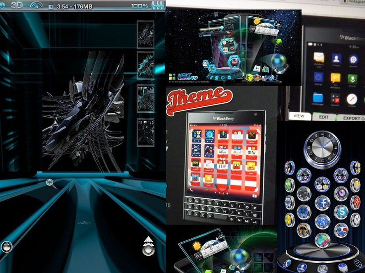 Download Tema BlackBerry Terbaru