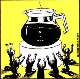 funny coffee cartoons