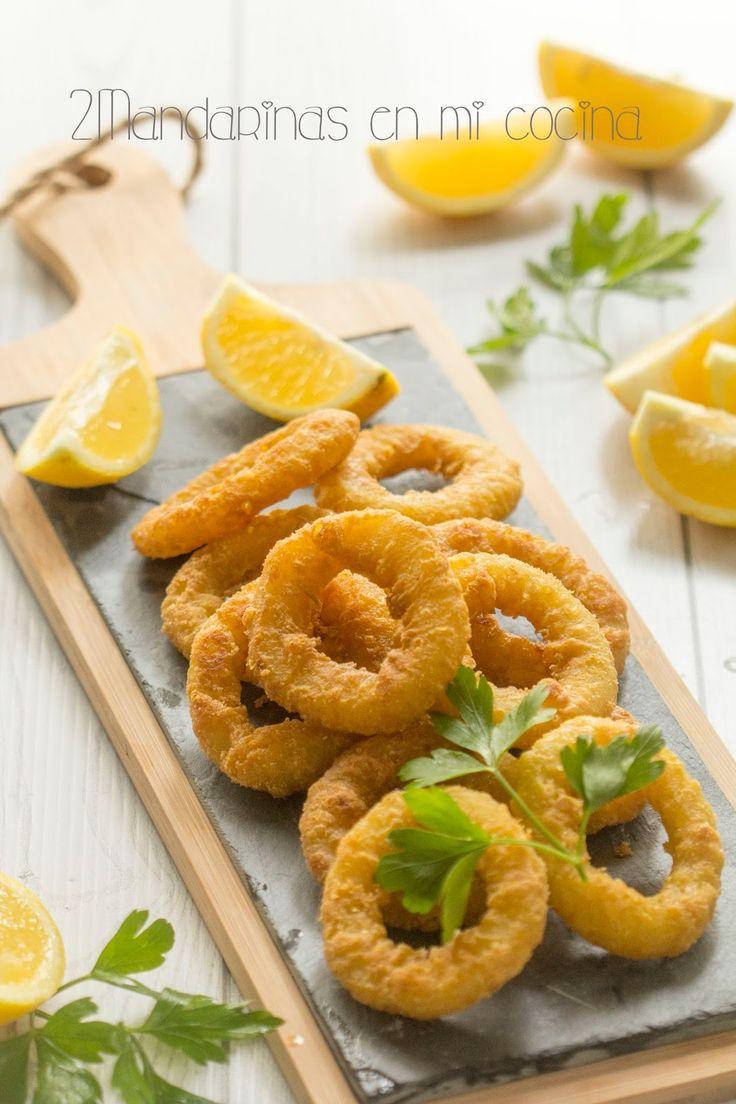 2Mandarinas en mi cocina: Calamares a la romana. Las mejores recetas de mi madre de Joan Roca