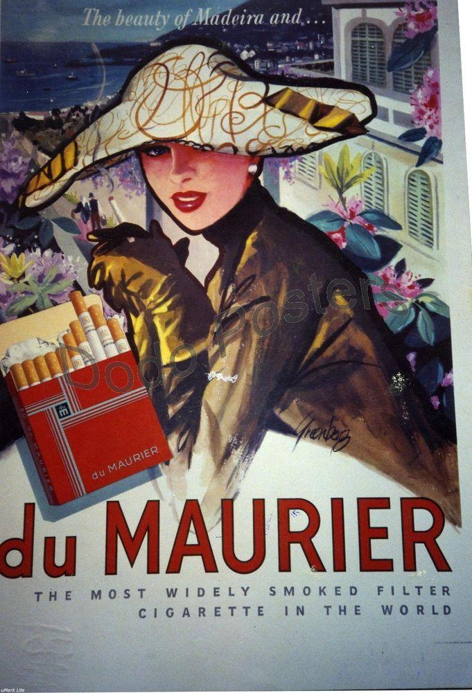 du Maurier vintage ad