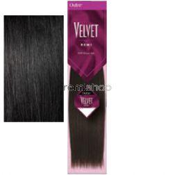 """Wed Sep 9, 2015 - #5: Velvet Yaki 6"""" Half Pack - Color 1 - Remi Weaving"""