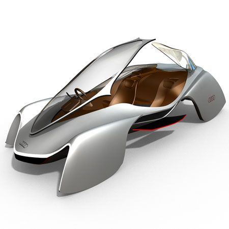 Audi Avatar 3-Seater Electric Supercar for 2032 | Tuvie