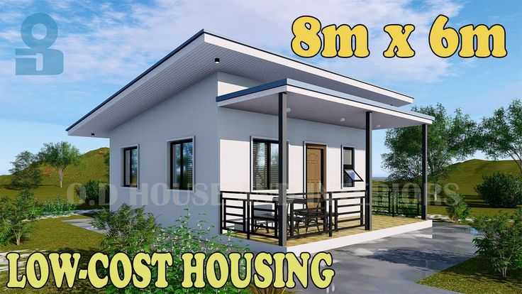 Pinoy Architect Designs A Low Cost House Design 26ft X 20ft O D Hous In 2021 Philippines House Design Low Cost Housing Low Cost House Plans Small house design cost