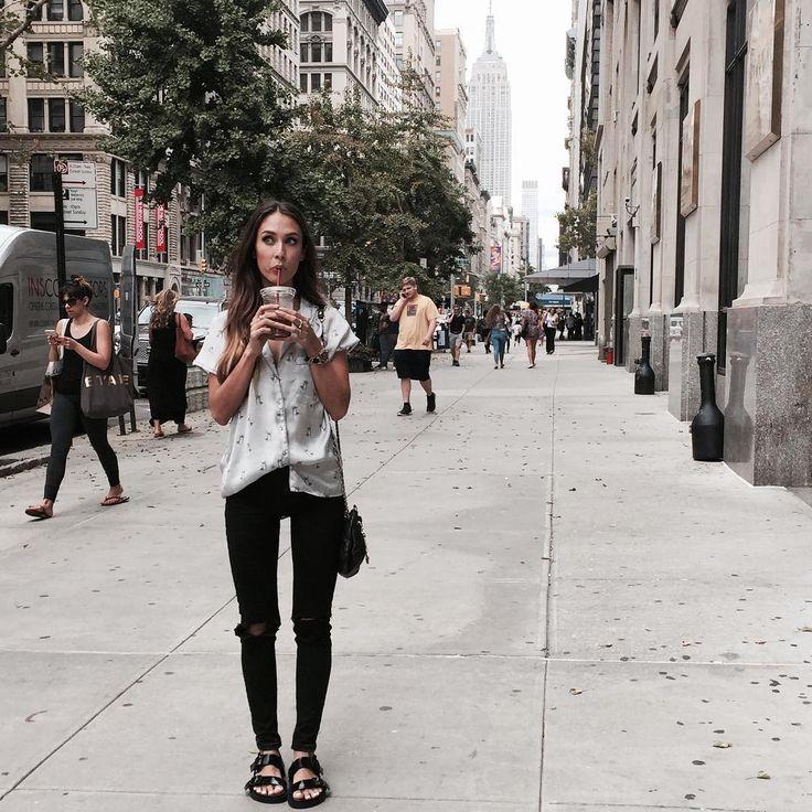 """Living the dream. #nyfw #NYC | Y mañana más!!! Ya os mantendré informadas por Twitter!! Night, night!"""