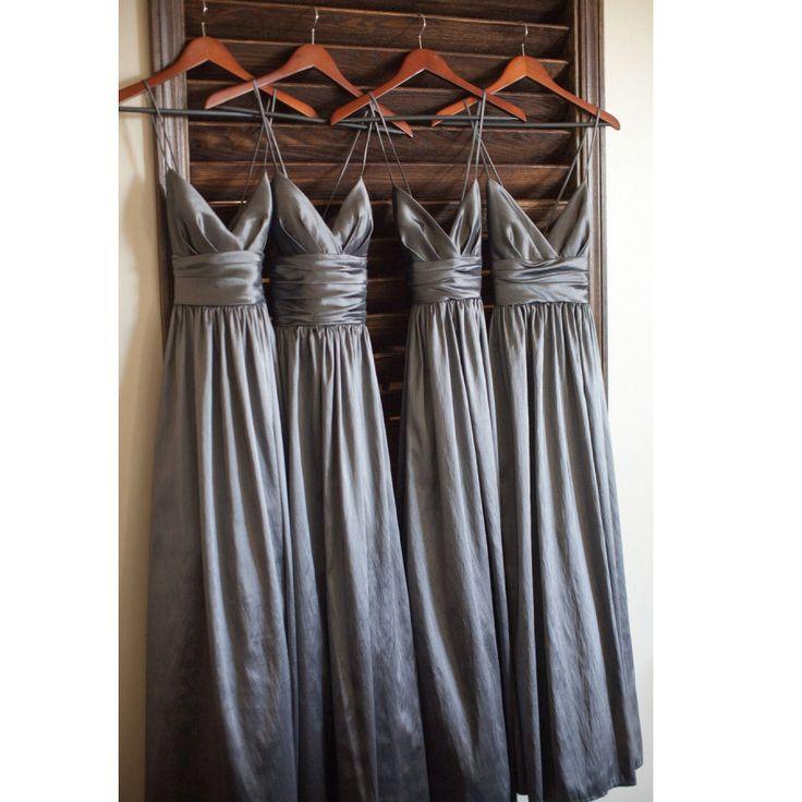 Taffeta Bridesmaid Dresses Spagetti Straps pst0246