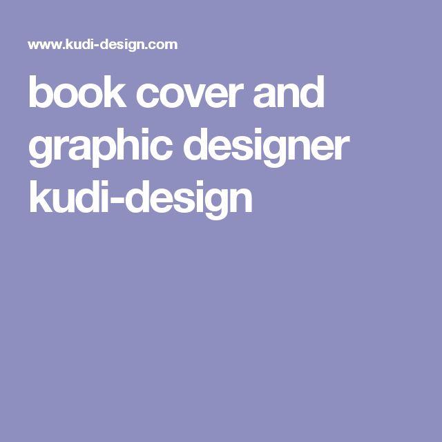 book cover and graphic designer kudi-design
