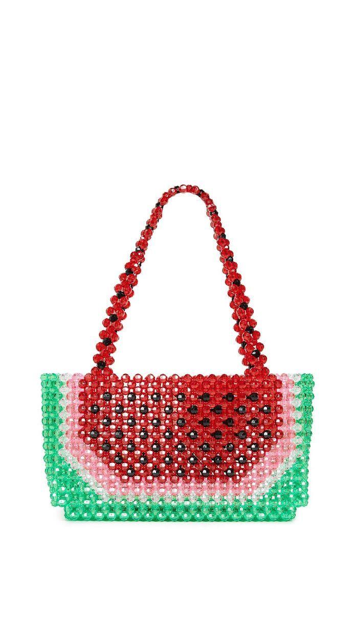 Winding bag diaper bag melon