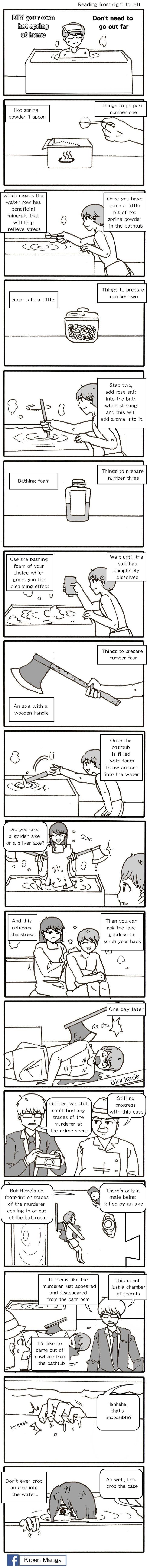 Kipen Manga - Hot springs