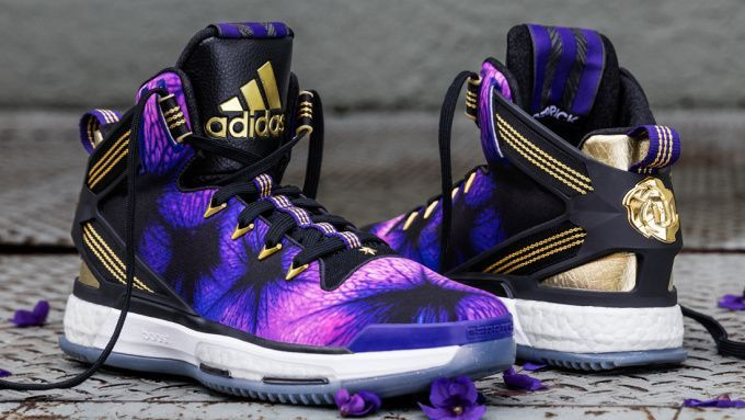 "Awesome Adidas Shoes adidas D Rose 6 Boost ""Florist City"" 