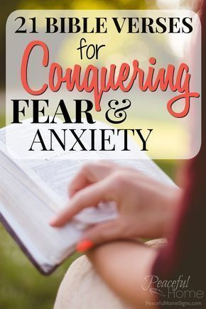 Bible Verses for fear and anxiety | Scriptures for fear | Scriptures for Worry | Bible verses for anxiety | What does the bible say about fear | How to stop being scared | Christian advice on fear and anxiety
