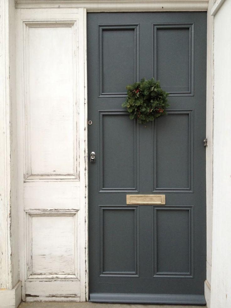 Great front door color!