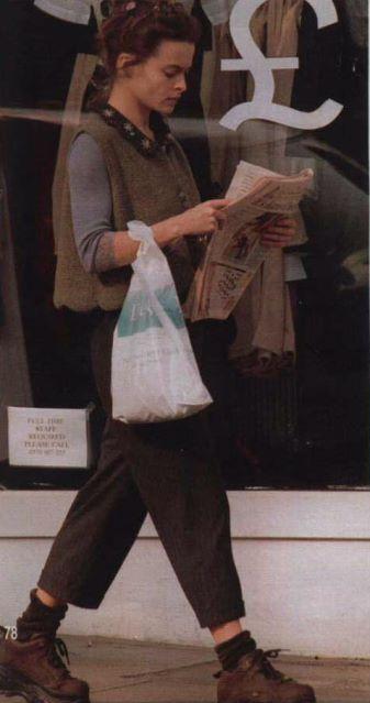 Helena Bonham Carter clothing inspiration love her individual style