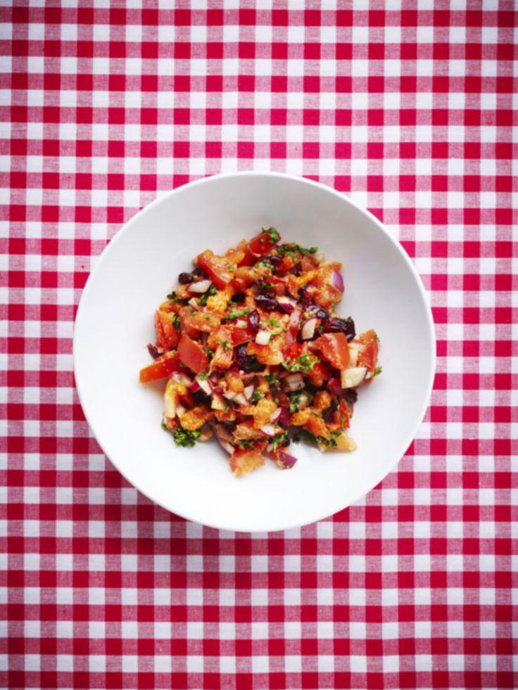 Rød tabbouleh med chilicreme - www.sæson.dk