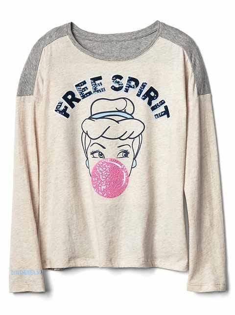 Girls' Ts & Polos: cotton t-shirts, turtleneck tees, long-sleeve ts, uniform polo shirts at GapKids   Gap