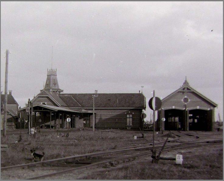 Achterkant station Lemmer
