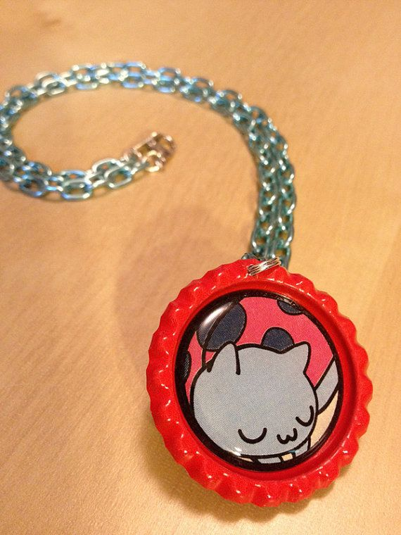 Catbug Bravest Warriors Necklace By Monostache On Etsy