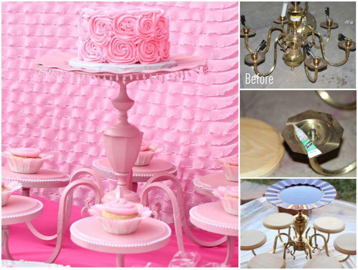 Top 25+ best Chandelier cake stand ideas on Pinterest ...
