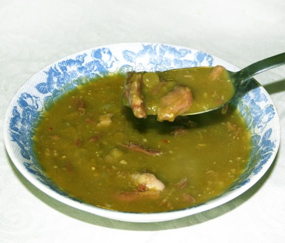A Hearty Split Pea and Ham Soup recipe that has been handed down through the generations.