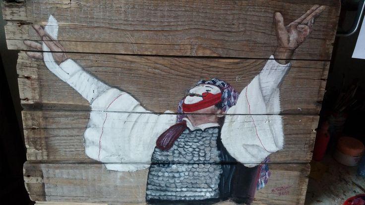 Traditionele Kostüme aus Naousa - Griechenland