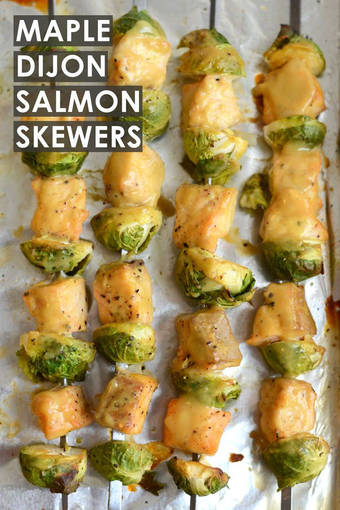 Ed Baines' Salmon Skewers Recipe — Dishmaps
