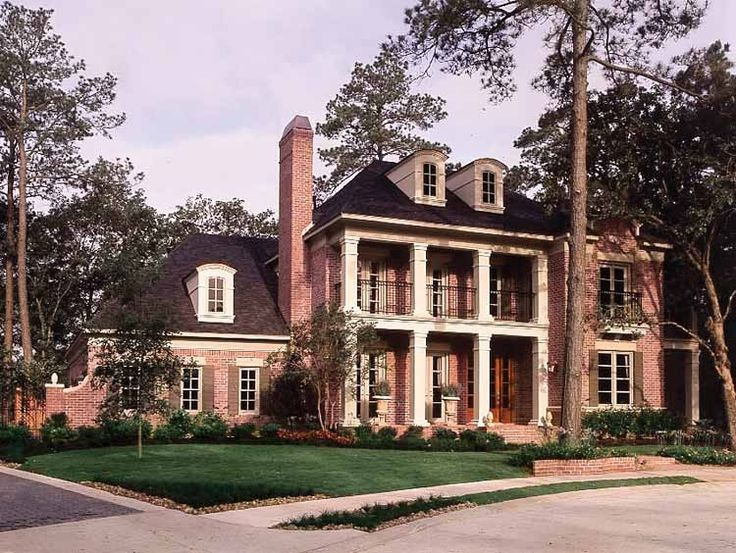 Country house plan with 4059 square feet and 4 bedrooms for Southern dream homes