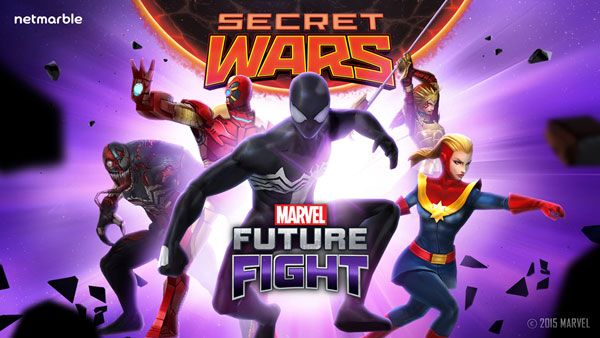 Marvel Future Fight - New Update with Secret Wars