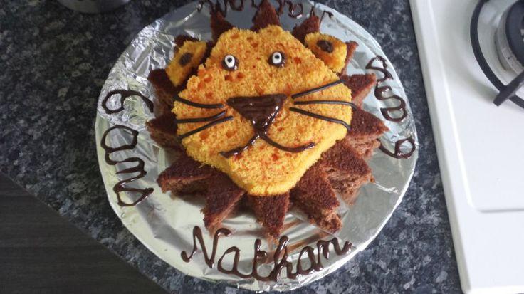 Gâteau d'anniversaire Lion