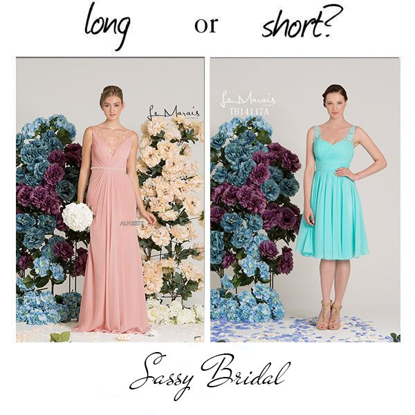 Long or Short for bridesmaids? Tina Holy has it covered. See the range @ Sassy Boutique Baulkham Hills