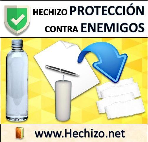 Hechizo de protección contra enemigos