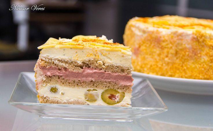 Tort-aperitiv Cu Branza Si Smantana