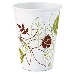 * Pathways Paper Hot Cups, 12 oz, 1000/Carton by MotivationUSA. $119.41. * The polylined design protects against soak-through. Also have durable sidewall strength. Provide an upscale image at an economical cost making them great for specialty hot beverages. Cup Type: Hot; Capacity (Volume): 12 oz; Material(s): Paper.