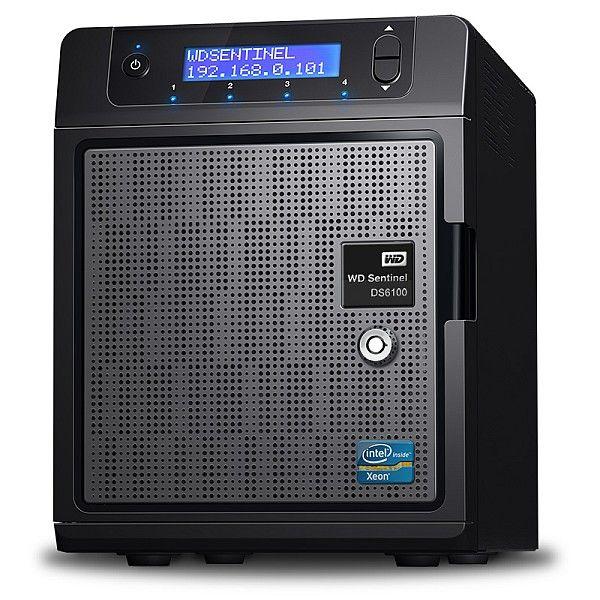 WD Sentinel DS5100 e WD Sentinel DS6100