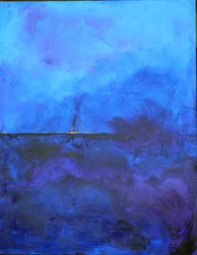'Blue Horizon' by Uxbridge Ontario artist Carolyn Bather. A graduate of The…