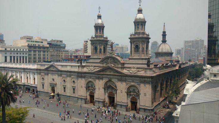 Catedral Metropolitana de Santiago - Plaza de Armas