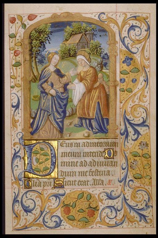 Réseau des Bibliothèques de l'Université de Liège; Livre d'heures (ms. Wittert 21, f° 16)  France, XVIe s.
