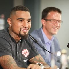 Kevin-Prince Boateng signs a three-year deal with Eintracht Frankfurt