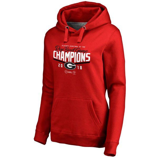 best loved d6c0b 0180c Women's Fanatics Branded Red Georgia Bulldogs College ...