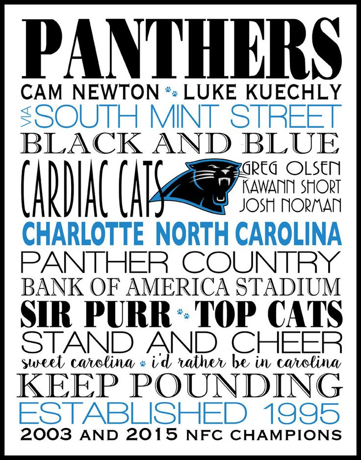 Carolina Panthers,Poster,Subway Wall Art, Print, Subway Art, football, all teams available, also in Canvas Art and other colors,sizes,cities by dreamweaverprints on Etsy