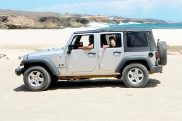 Explore Aruba in your own off-road vehicle — a Jeep Wrangler or Kia Sportage — checking out natural landmarks, parks and other attractions that make up this arid island in the southern Caribbean. See the ruins of the Natural Bridge, Arikok National Park, Boca Mahos and Baby Beach. View more tour in Aruba at: http://ow.ly/UOkc6
