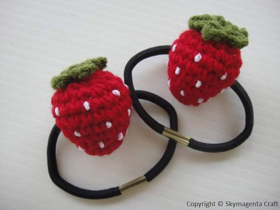 Crochet Hair Rubber Band : 1000+ images about hair ties on Pinterest