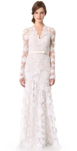 Gorgeous gown by Temperley London
