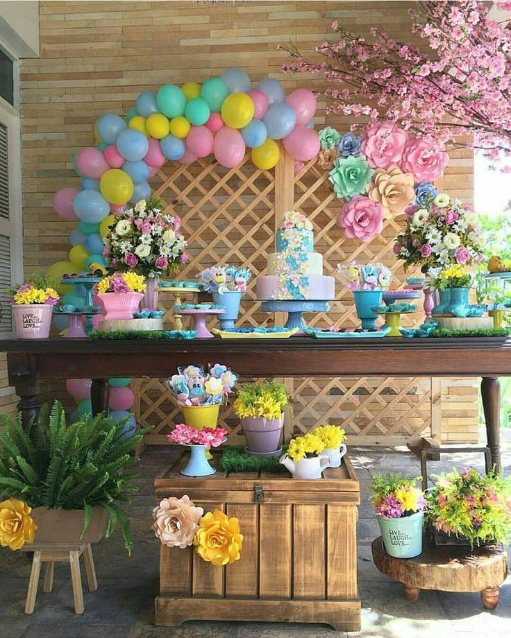Decoração Jardim Encantado: Mais de 30 ideias – Inspire sua Festa ®